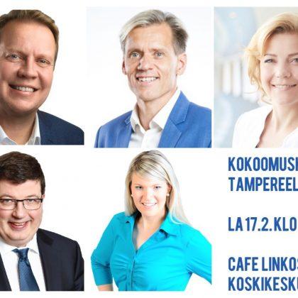 Kokoomuskahvit Tampereella