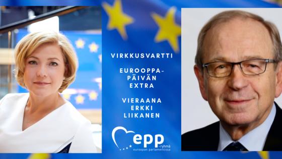 VirkkusVartti: Eurooppa-päivän extra, vieraana Erkki Liikanen