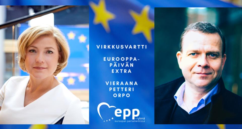 VirkkusVartti: Eurooppa-päivän extra, vieraana Petteri Orpo