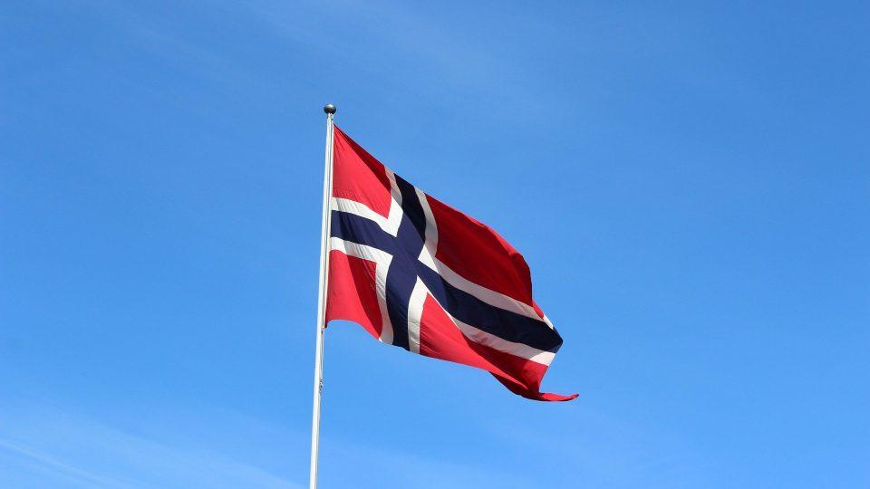 Norjan lippu.