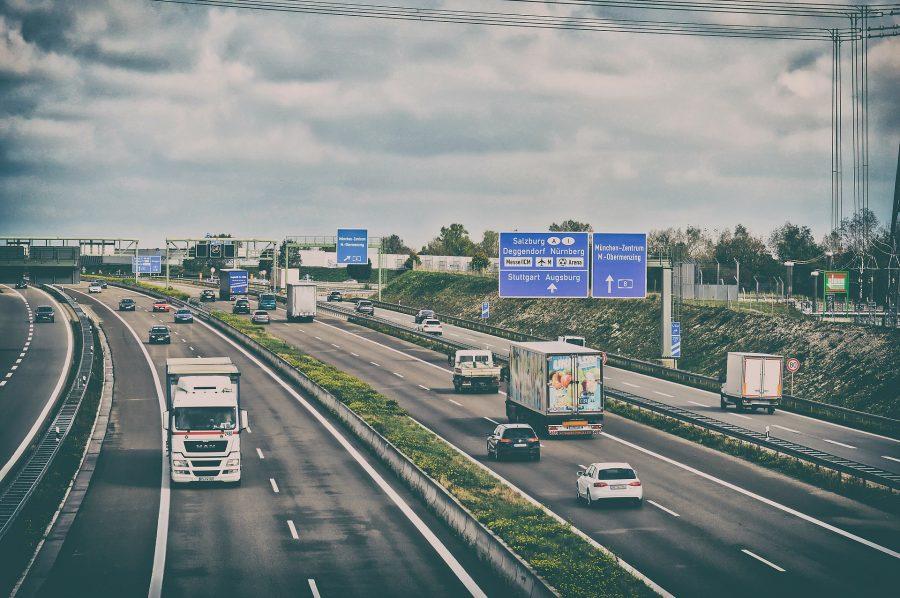 Saksalainen moottoritie.