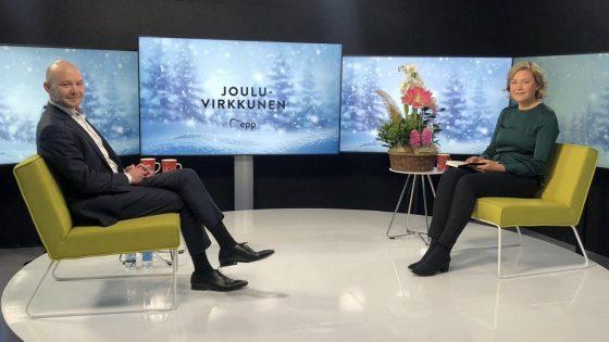 JouluVirkkunen: vieraana Suomen Yrittäjien puheenjohtaja Petri Salminen