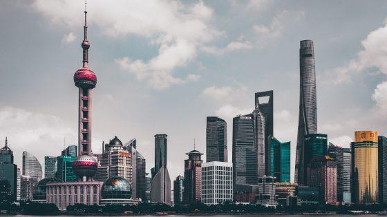 Shanghain pilvenpiirtäjät