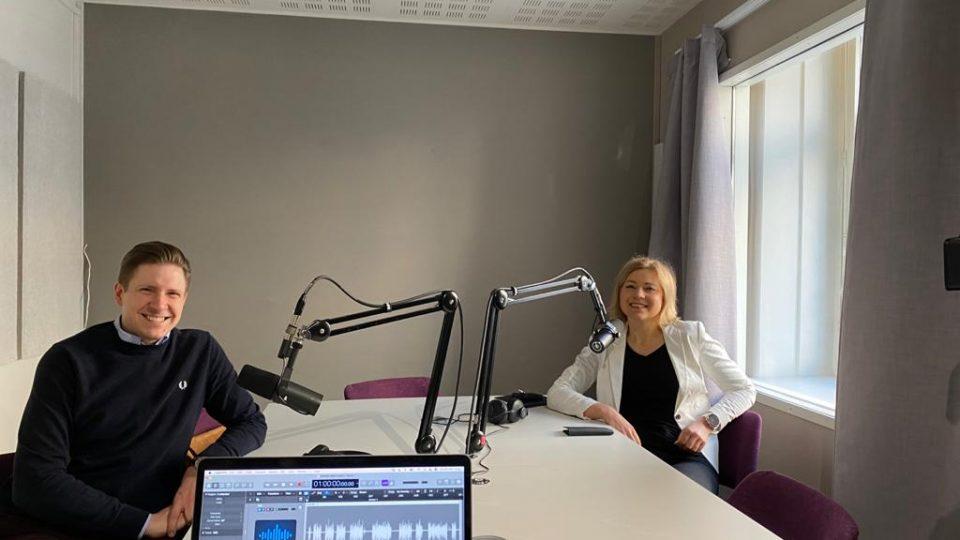 MEP Henna Virkkunen ja Kaupan liiton johtava asiantuntija Ilari Kallio studiossa