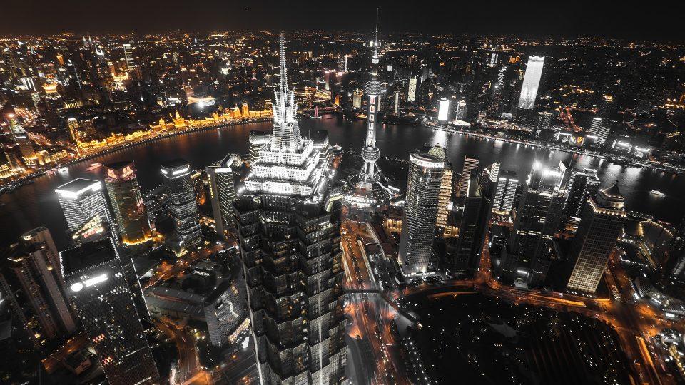 Shanghai yöllä